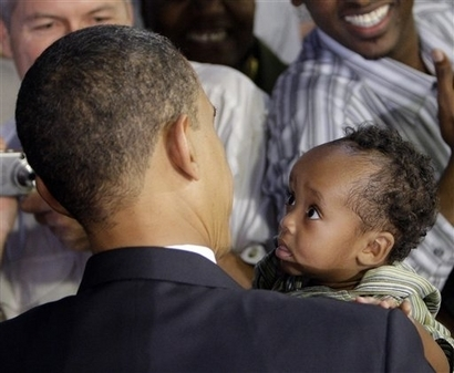 Obama bébé