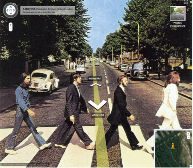 beatles-google-streetview