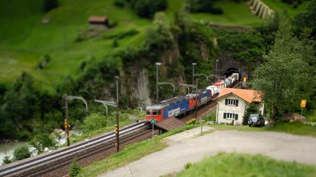 petit train suisse
