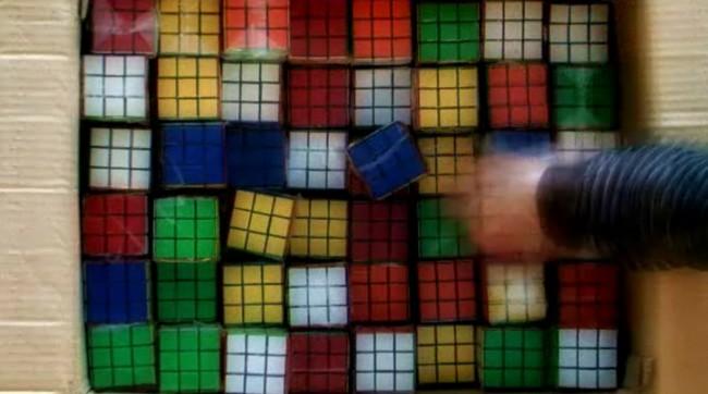 rubik's cube invader