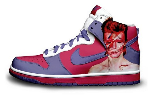 basket custom David Bowie