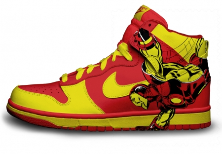 basket custom Iron Man