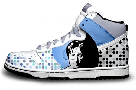 basket custom John Lennon