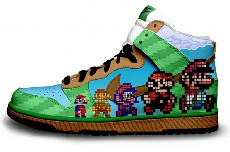 basket custom Mario Evolution