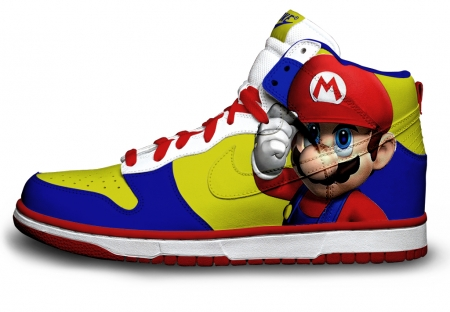 basket custom Super Mario