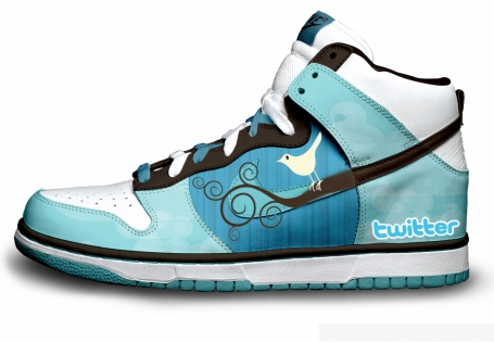 basket custom Twitter