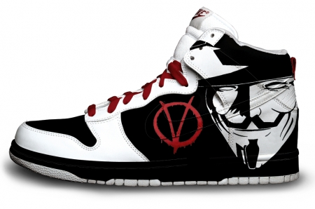 basket custom V Pour Vendetta