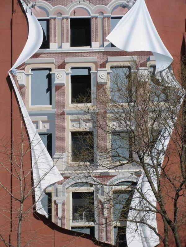 façade trompe l oeil