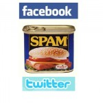 Nouveau spam Facebook Twitter