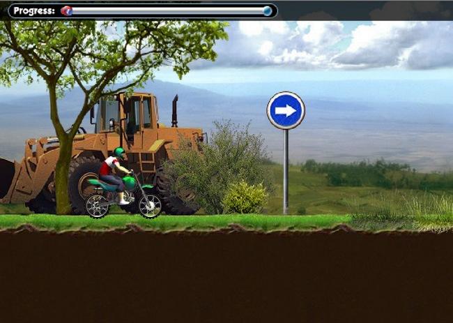 jeu motocross sympa