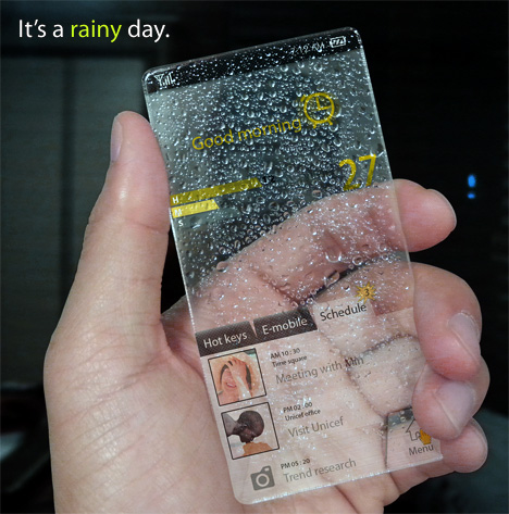 téléphone météo pluie