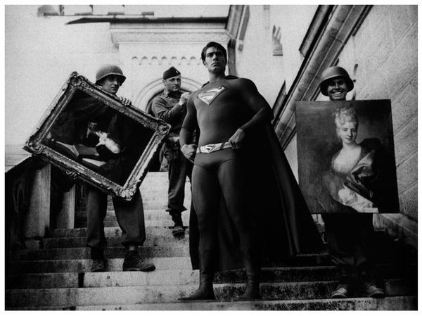 super héros à la guerre