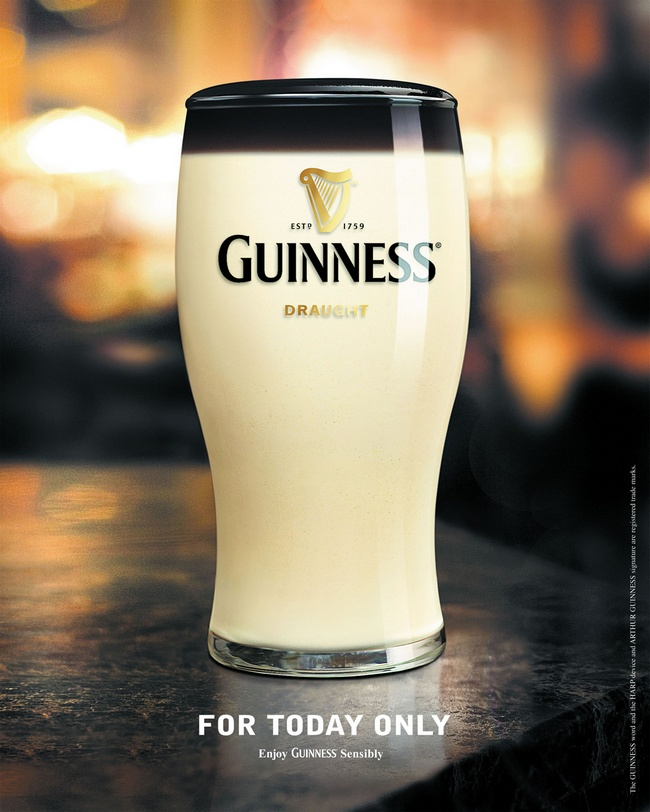 Guinness publicité