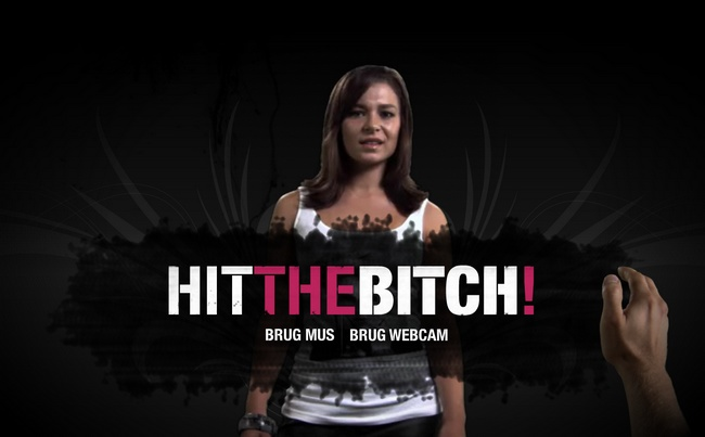 hit the bitch