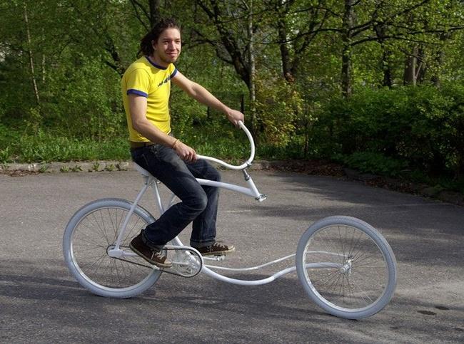 vélo sans fourche