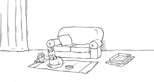simon s cat et le chaton