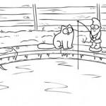 Simon's Cat sur la Glace