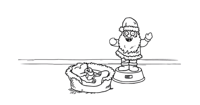 Simon's Cat Noël 2