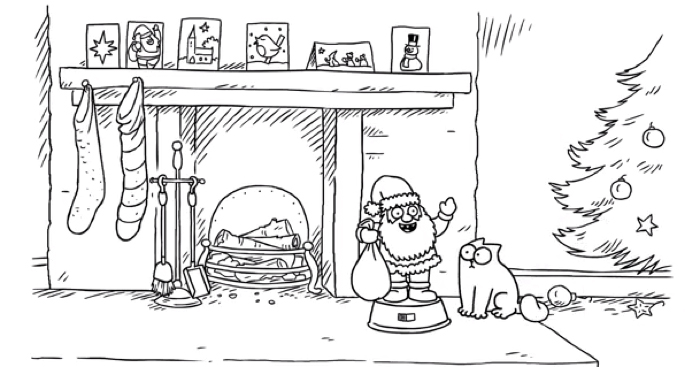 Simon's Cat à Noël