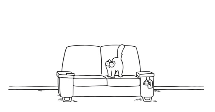 Simon's Cat d'Halloween