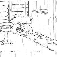 Simon's Cat et la pluie d'avril