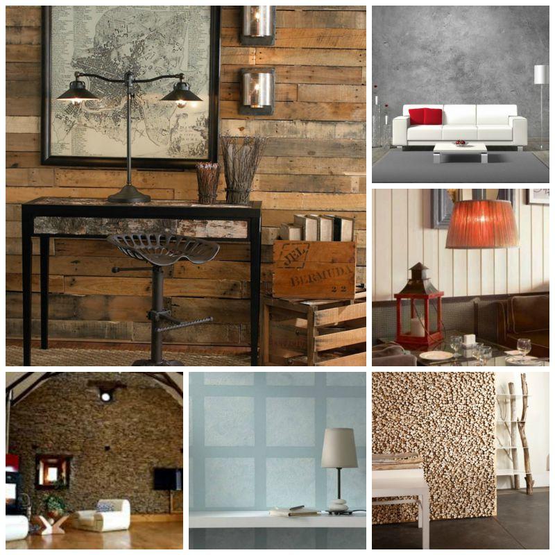 5 fa ons originales d 39 habiller un mur. Black Bedroom Furniture Sets. Home Design Ideas