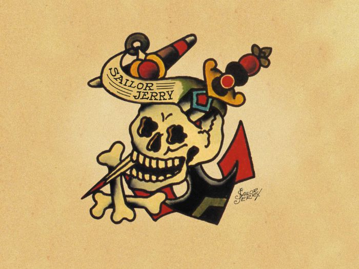 La signification des tatouages old school - Tatouage de protection contre le mal ...