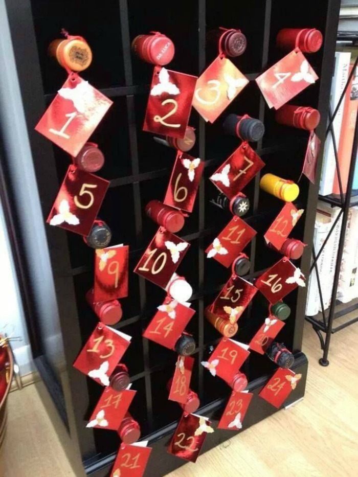 5 calendriers avent adultes diy vin