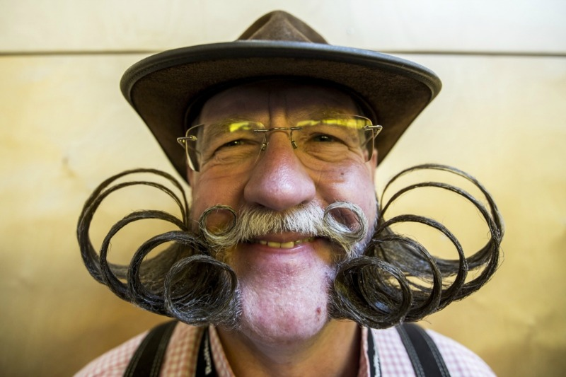 le championnat du monde de barbes moustache 4