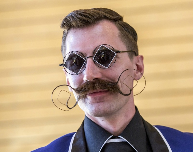 le championnat du monde de barbes moustache