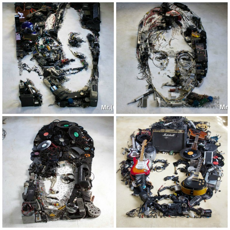 les portraits fous de mister c musique