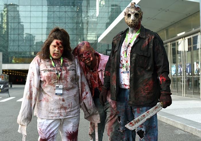 ny comic con ouverture zombies