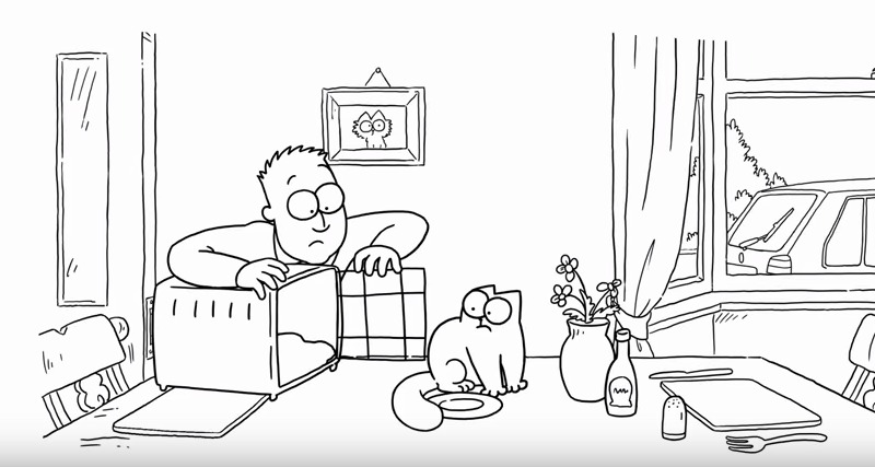 simon's cat box clever