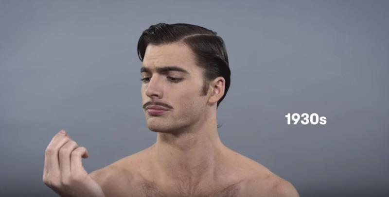 100 ans de beaute masculine