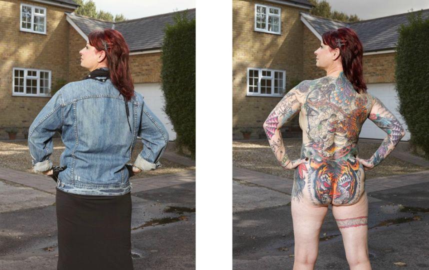 Alan Powdrill met les tatoués à nu Victoria