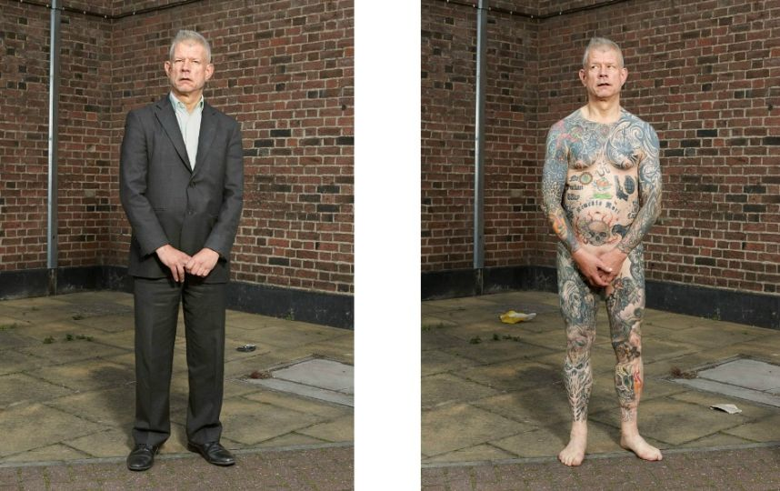Alan Powdrill met les tatoués à nu Bill
