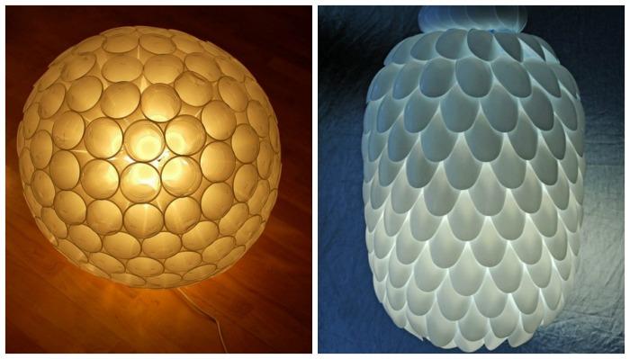 DiY de Noel lampes plastiques