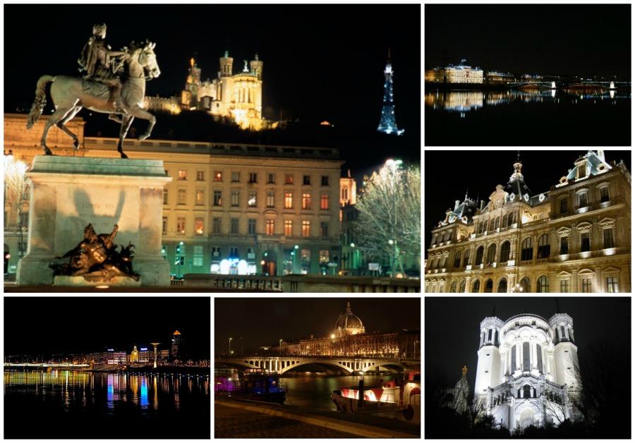 la fête des lumières annulée montage Lyon