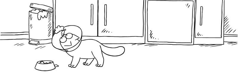 simon's cat et sa vie de chien Une
