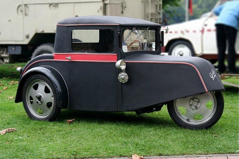 Les plus belles Tiny Cars Goliath Pionier 1934