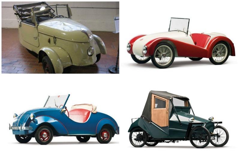Les plus belles tiny cars 40's