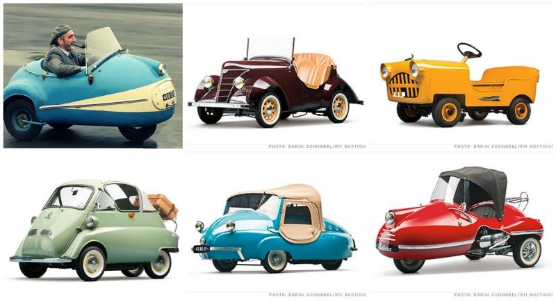 Les plus belles tiny cars 50's