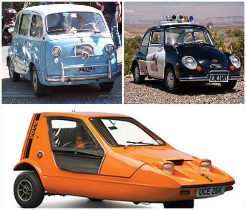 Les plus belles tiny cars 70's