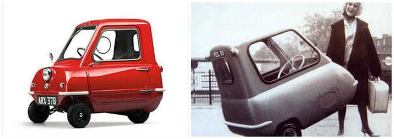 Les plus belles tiny cars Peel P50