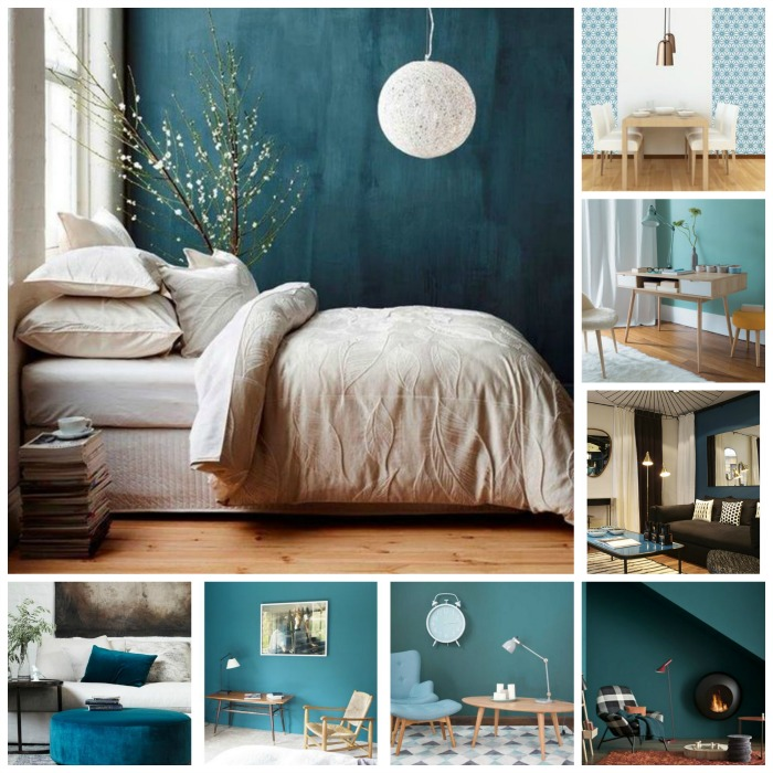 D co scandinave et couleurs for Chambre scandinave blanche