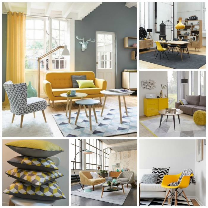 D co scandinave et couleurs for Salon gris scandinave