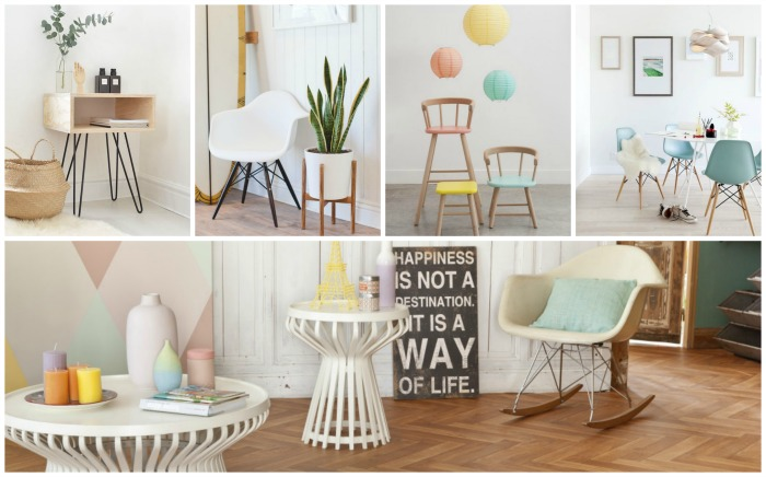 D co scandinave et couleurs - Decoration scandinave vintage ...