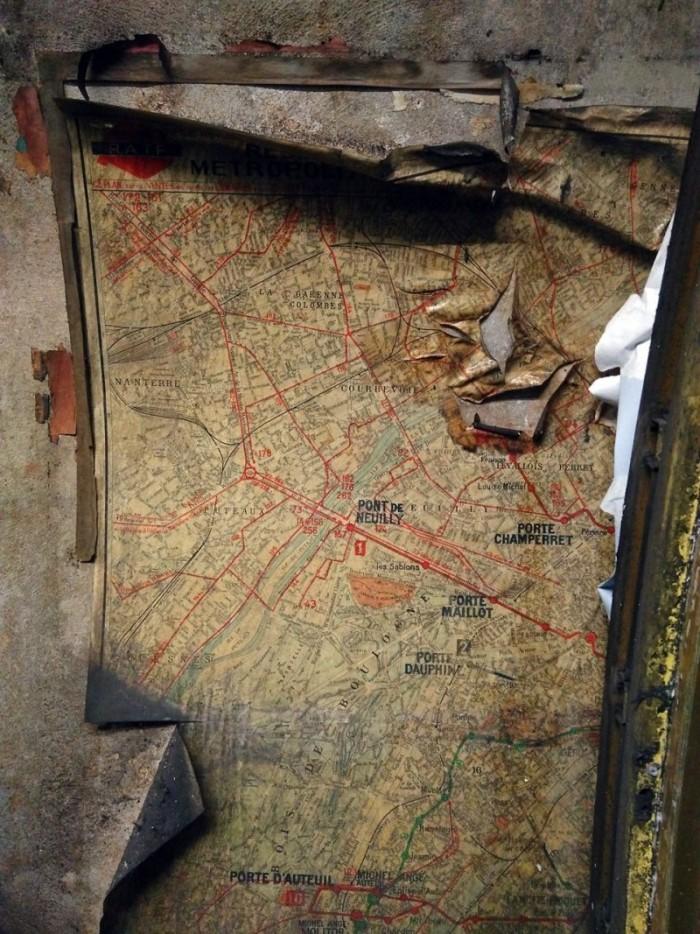 station Trinité plan du métro