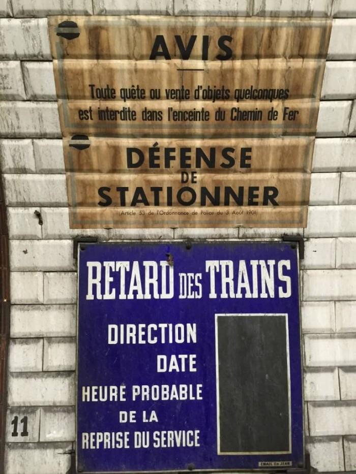 Retour aux années 50 pour la station Trinité