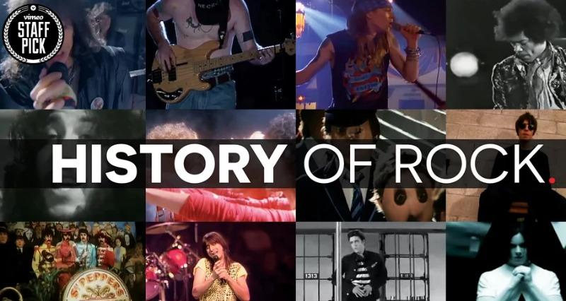 histoire du rock facebook